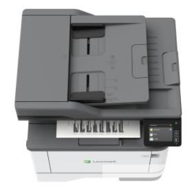 МФУ Lexmark MX431adn Лазерное монохромное (A4, 600 x 600dpi, 40 стр/<wbr>мин, дуплекс, цвет. сканер, копир, факс, сеть, 512 MБ