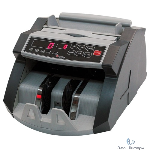 Cassida 5550 UV DL рубли {Счетчик банкнот (купюр), ЖК дисплей Виды детекций Детекция по оптической плотности, Сдвоенности, По размеру, Ультафиолетовая, Магнитная}