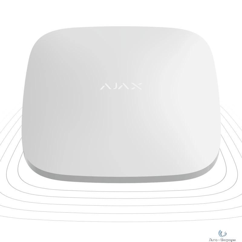 AJAX 8001.37.WH1 белый Ретранслятор радиосигнала системы безопасности Ajax