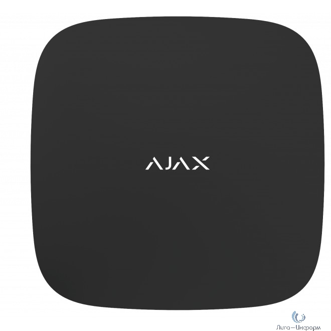 AJAX 8075.37.BL1 чёрный Ретранслятор радиосигнала системы безопасности Ajax