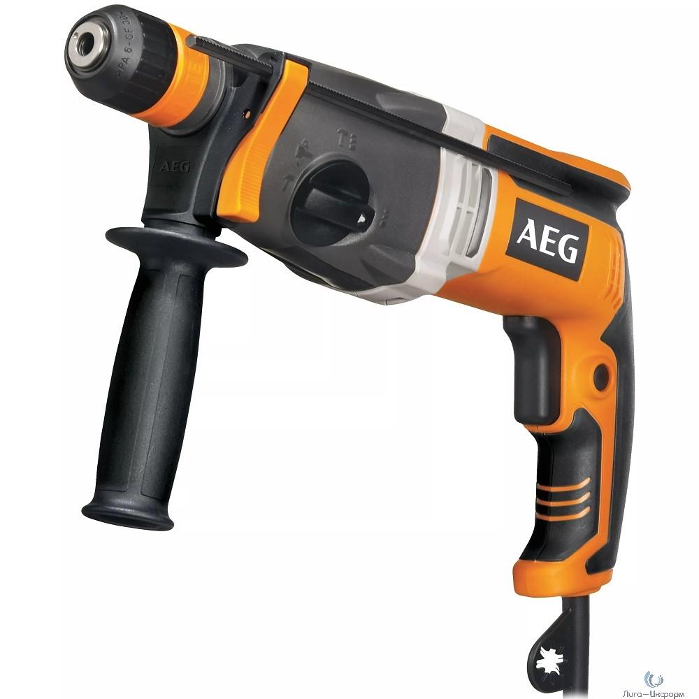 AEG KH 28 Super XE Перфоратор [4935428190] { 1100 Вт, 1700 об/мин, 2.8 кг }