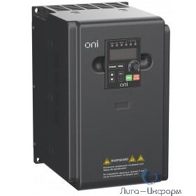 IEK A150-33-55NT Преобразователь частоты A150 380В 3Ф 5,5кВт 13А со встроенным тормозным модулем ONI