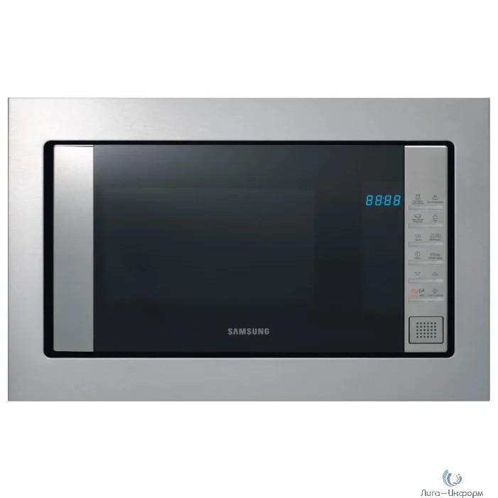 Микроволновая печь Samsung FG77SUT/BW 20л. 850Вт нержавеющая сталь/черный (встраиваемая)