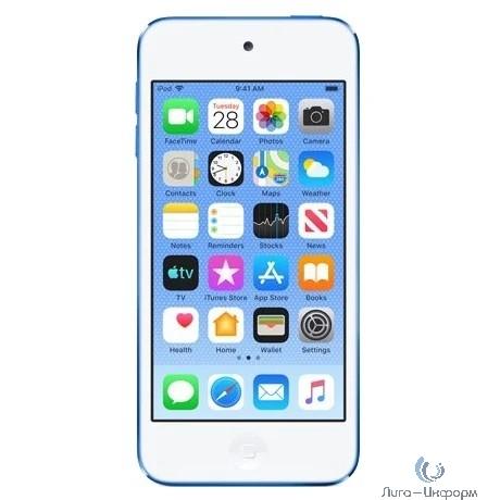 Apple iPod touch 128GB - Blue [MVJ32RU/A]