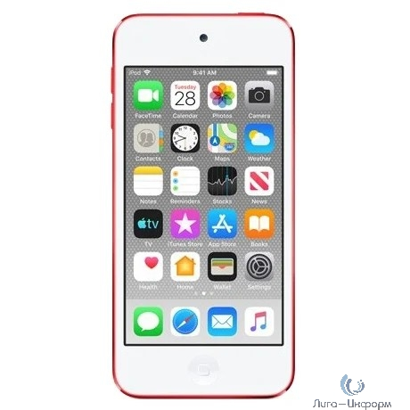 Apple iPod touch 128GB - Red [MVJ72RU/A]