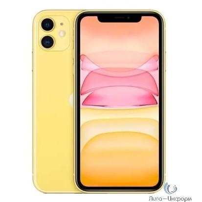 Apple iPhone 11 64GB Yellow [MHDE3RU/A] (New 2020)