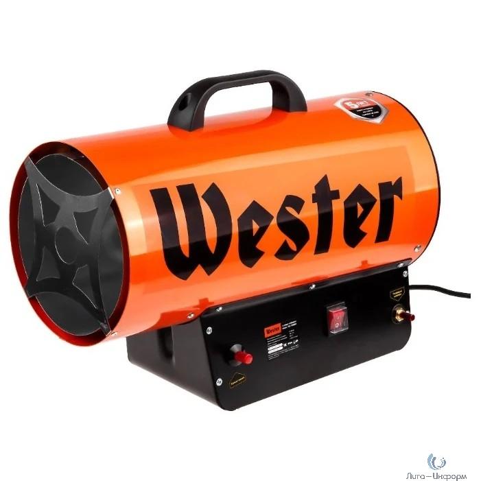 WESTER TG-35000 Газовая тепловая пушка  { 35кВт 700м3/ч 2,18кг/ч 315м2 } [615363]
