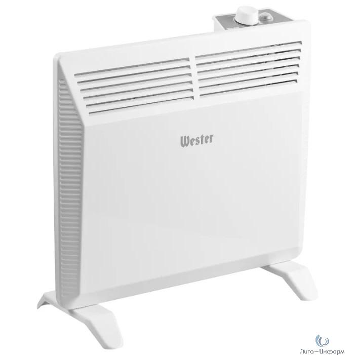 WESTER EK-1000 Конвектор электрический  { 1кВт, до 15м2, Х-образный нагреватель } [551308]
