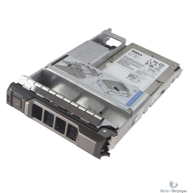 """Dell 1.2TB SAS 12Gbps 10k 2.5"""" HD Hot-plug Hard Drive, 3.5"""" hyb Carrier Kit for G13 servers and Dell PV MD R730 / R730XD / T430 / T630 / R430 / R530 / MD1400 (400-AJPC/400-AEFW/400-AUQZ)"""