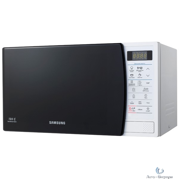 Микроволновая печь SAMSUNG GE83KRW-1/BW white (Объем 23л, мощность 800 Вт, гриль) (GE83KRW-1/BW)