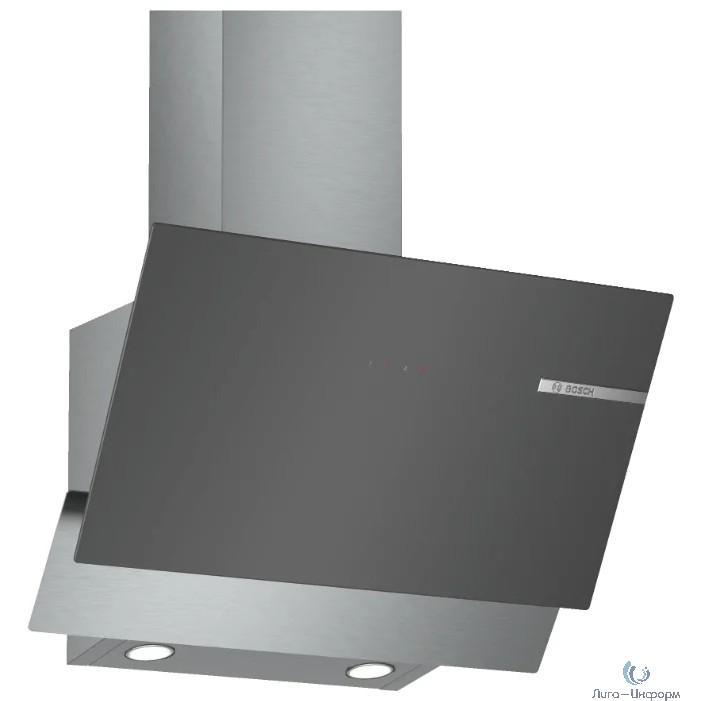 Вытяжка каминная Bosch DWK65AD70R нержавеющая сталь управление: сенсорное (1 мотор)