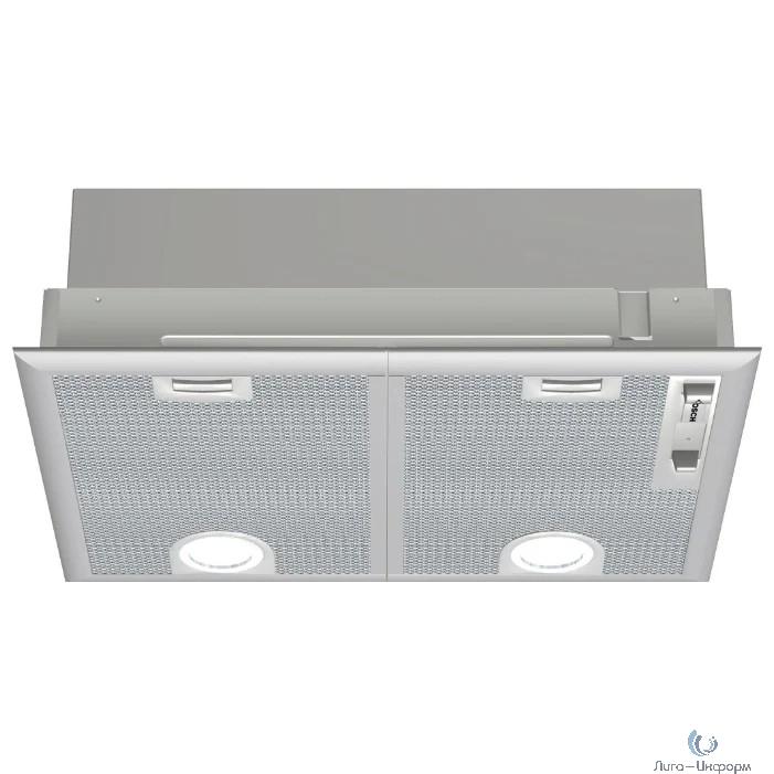Вытяжка встраиваемая Bosch DHL555BL серебристый управление: ползунковое (2 мотора)