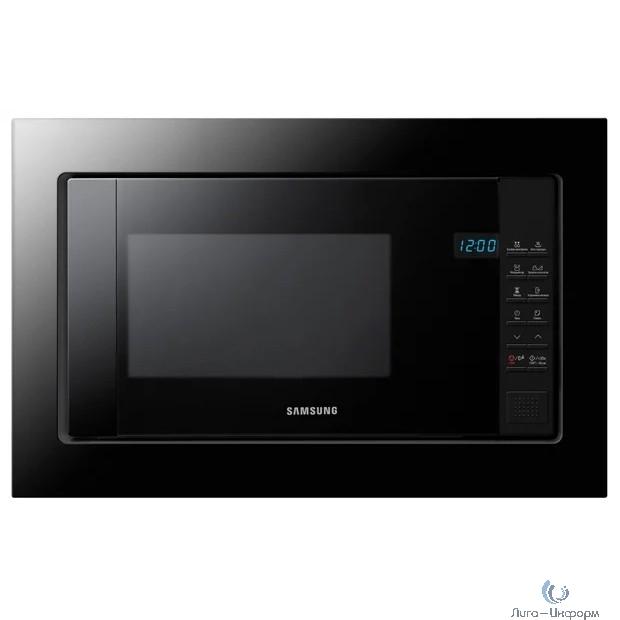 Микроволновая печь Samsung FW77SUB/BW 20л. 850Вт черный (встраиваемая)