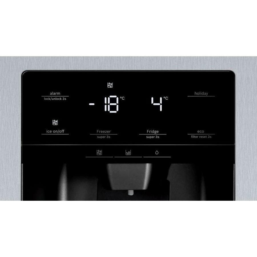 Холодильник Bosch KAG93AI30R нержавеющая сталь (двухкамерный)