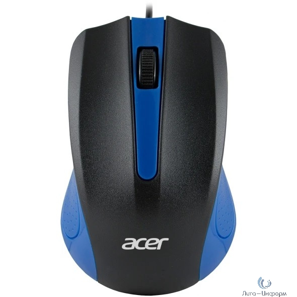 Acer OMW011 [ZL.MCEEE.002] Mouse USB (2but) blk/blu