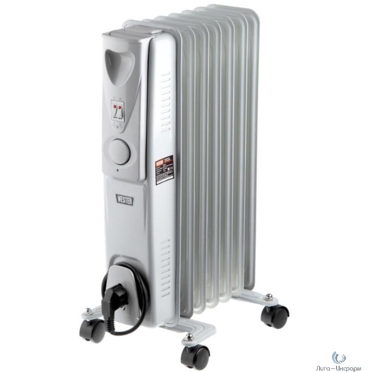 Wester MR-1600/7 Масляный электрический радиатор  1600Вт, 7 секций    { 1600Вт, 7 секций } [698174]