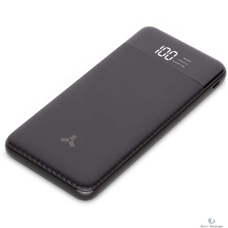 Accesstyle Seashell 10PD  Внешний аккумулятор, Micro: 5V-2A  Type-C: 5V-2A, USB1/2: 5V2.1A