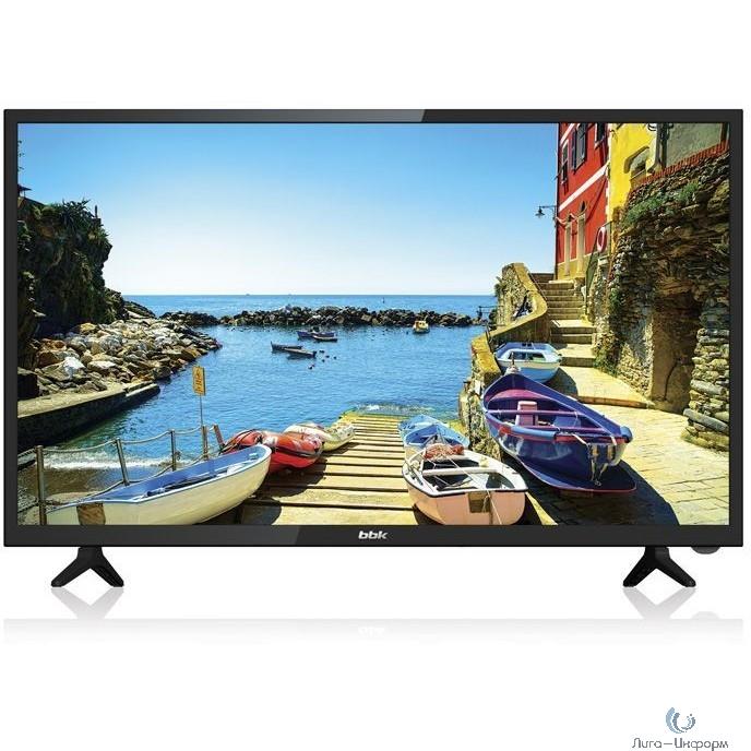"BBK 39"" 39LEX-7268/TS2C черный/HD READY/50Hz/DVB-T2/DVB-C/DVB-S2/USB/WiFi/Smart TV (RUS)"