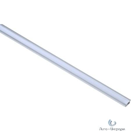 IEK LSADD2207-SET1-2-V4-1-08 Профиль алюм. для LED ленты 2207 встр. трап. 2м к-т опал