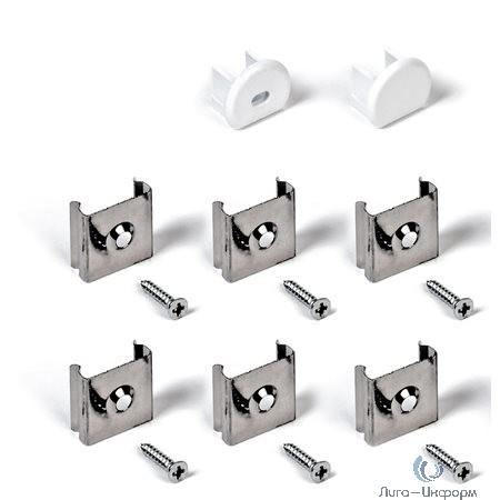 IEK LSADD1816-SET2-N2-04 Набор для монтажа накл. круг. профиля для LED ленты 1816