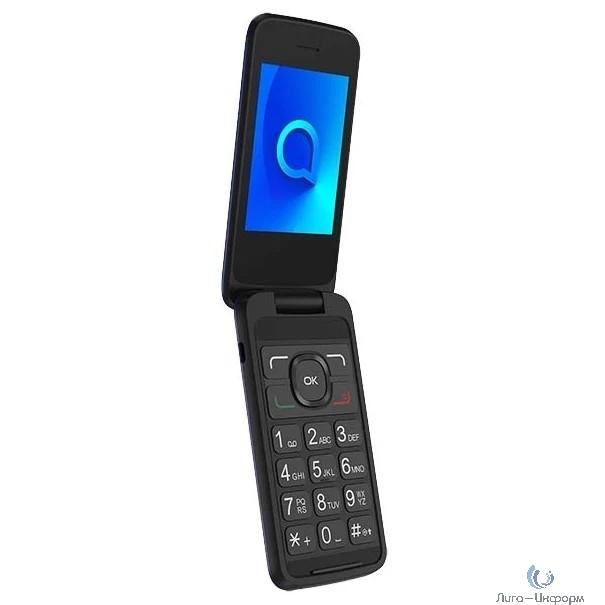 """Alcatel 3025X синий 1Sim 2.8"""" TN 240x320 2Mpix"""