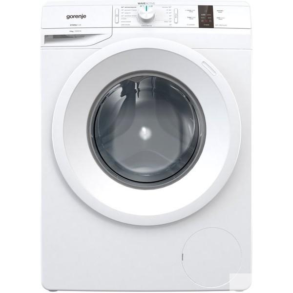 Стиральная машина GORENJE/ Узкая стиральная машина, 85x60x43, загрузка фронтальная, 6кг, до 1200 об/<wbr>мин при отжиме, 16 программ, белая