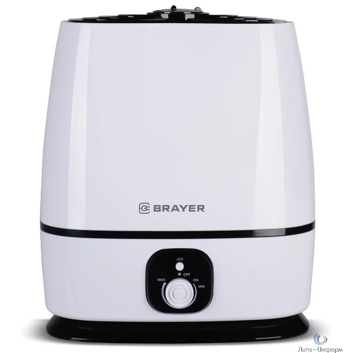 BRAYER 4702BR Увлажнитель ультразвуковой  6 л, 25 м, 24 ч., регулировка интенсивности