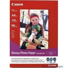 Canon 0775B001 Бумага GP-501 Glossy Photo Paper A4 глянцевая (A4, 100л., 170г/кв.м)
