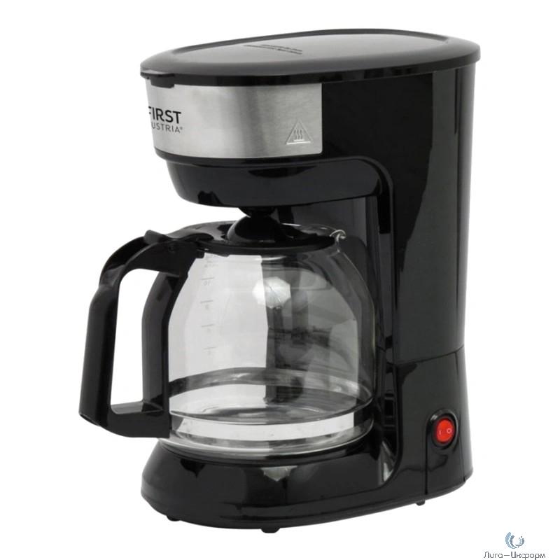 FIRST 5459-5  Кофеварка,900 Вт.Ёмкость: 12 чашек  (1.8 л) Черный