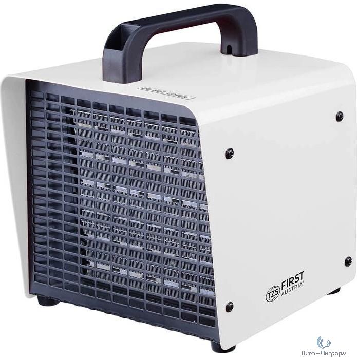 FIRST 5565 Тепловентилятор , 2 мощности нагрева: 1500 Вт/3000 Вт.Площадь обогрева: до 30 кв. белый