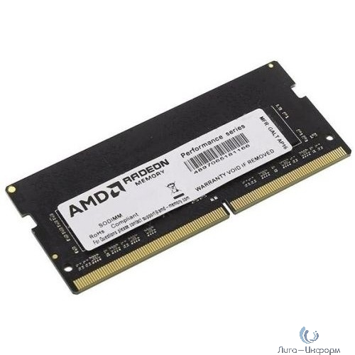 AMD SO-DIMM DDR4 8Gb PC21300 2666MHz CL16 AMD 1.2V OEM (R748G2606S2S-UO)