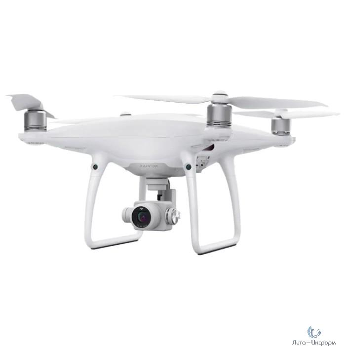 Квадрокоптер Dji Phantom 4 Pro V2.0 20Mpix 4K UHD WiFi GPS ГЛОНАСС ПДУ белый