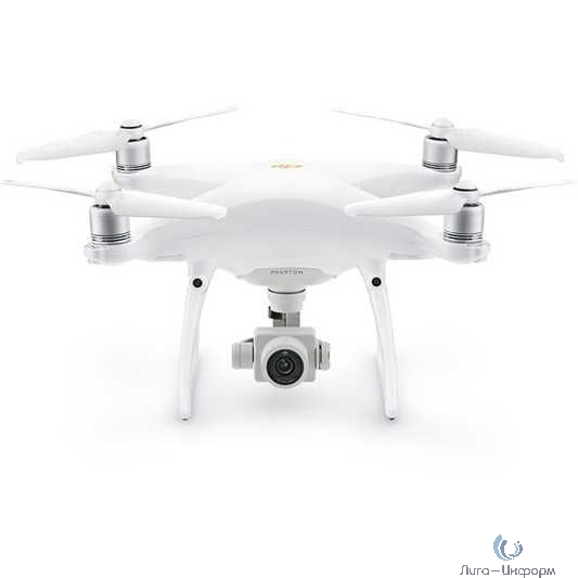 Квадрокоптер Dji Phantom 4 Pro V2.0 Plus 20Mpix 4K UHD WiFi GPS ГЛОНАСС ПДУ белый