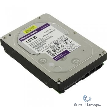 """10TB WD Purple (WD102PURX) {Serial ATA III, 7200- rpm, 256Mb, 3.5""""}"""