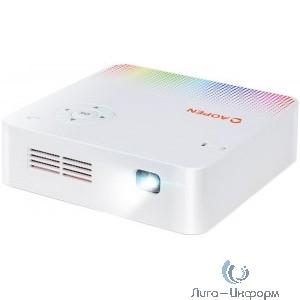 Acer Aopen PV10 [MR.JRJ11.001] Проектор  {LED WVGA 300Lm 5000:1 HDMI USB Wifi 0.4Kg EURO/UK/Swiss EMEA}