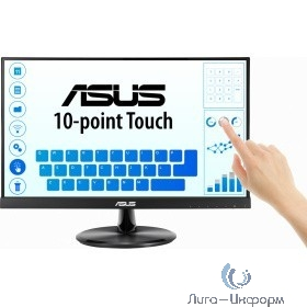 """ASUS LCD 21.5"""" VT229H Touch {IPS 1920x1080 5ms 250cd 178/178  D-SUB HDMI USB VESA} [90LM0490-B01170]"""