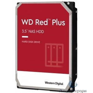 """10TB WD Red Plus (WD101EFBX) {Serial ATA III, 7200- rpm, 256Mb, 3.5"""", NAS Edition}"""