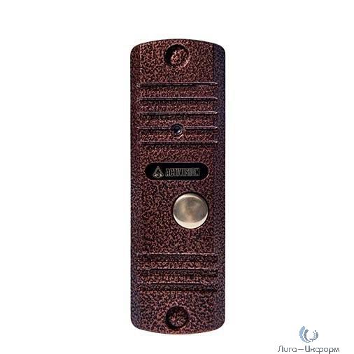 Activision AVC-105 (медь). Вызывная аудиопанель 2-х проводная, антивандальная накладная
