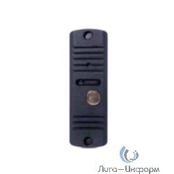 Activision AVC-105V Черный (с видео-модулем) с видео-модулем 2-х проводная антивандальная накладная аудиопанель