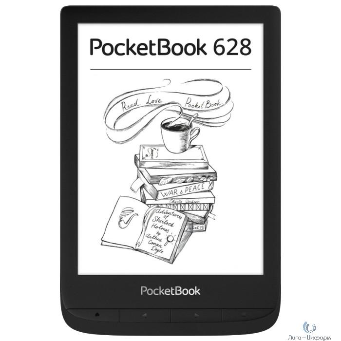 PocketBook 628 Ink Black (PB628-P-CIS)