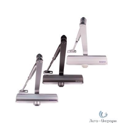 Tantos TS-DC120 Freeze серебро Доводчик дверной морозостойкий, усилие EN5, вес двери до 150 кг