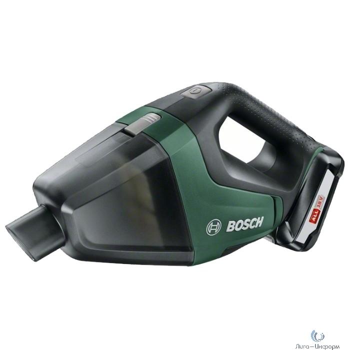 Bosch UniversalVac 18 baretool пылесос [06033B9100] { 18 В, 2,5 Ач, 1,3 кг }