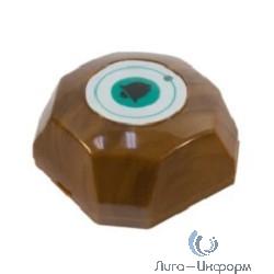 """Tantos TSw-BQ1 Кнопка вызова радиоканальная 1 кнопочная квадратного дизайна цвет """"под дерево"""""""