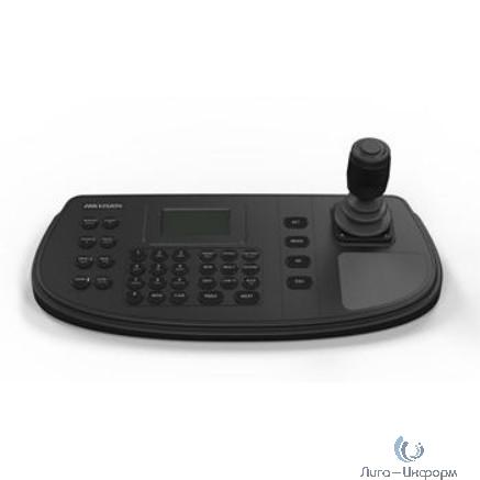 Клавиатура управления, LCD-экран с разрешением 128х64, 4-х позиционный джойстик, 1 RS-232, 1 RS-422, 1 RS-485, 1 USB, DC12В, 4.5Вт, -10...+55°C, 435х193х110мм