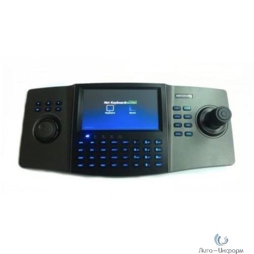 """HIKVISION DS-1100KI(B) Клавиатура управления,Сенсорный 7"""" LCD-экран с разрешением 800х480; 4-х позиционный джойстик"""