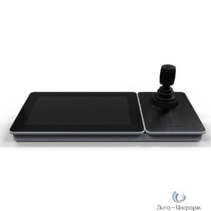 """HIKVISION DS-1600KI(B) Клавиатура управления,Сенсорный 10.1"""" LCD-экран с разрешением 1024х600,Android 6.0; 4-х позиционный джойстик"""