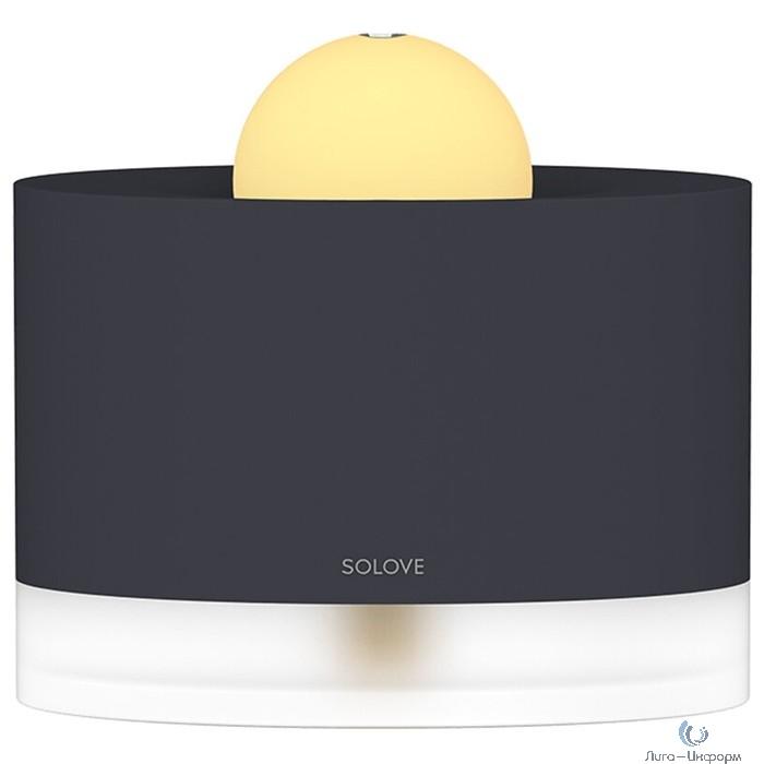 Xiaomi (Mi) SOLOVE 400мл для площади помещения 30-40 кв.м. (H5 Black), черный Увлажнитель настольный