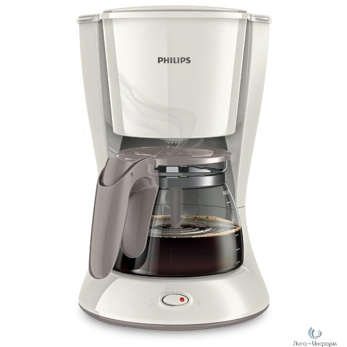 PHILIPS (HD7461/00) Кофеварка капельного типа 1,2 л, пластик, белый, стеклянный кувшин