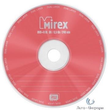 Mirex Диск DVD+R 8.5 Gb, 8x, Slim Case (1), Dual Layer (1/50) (UL130062A8S) (204190)