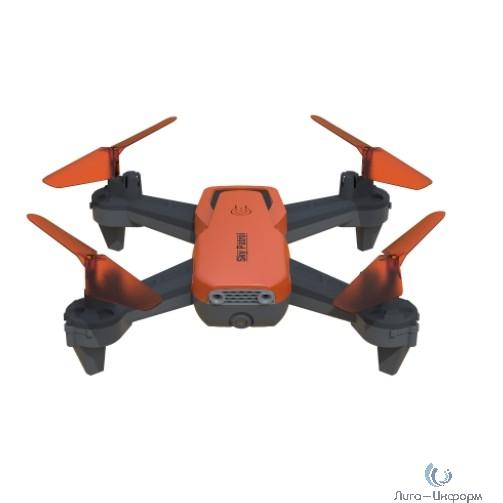 Hiper HQC-0030 SKY PATROL FPV 0.3Mpix VGA WiFi ПДУ черный/оранжевый Квадрокоптер